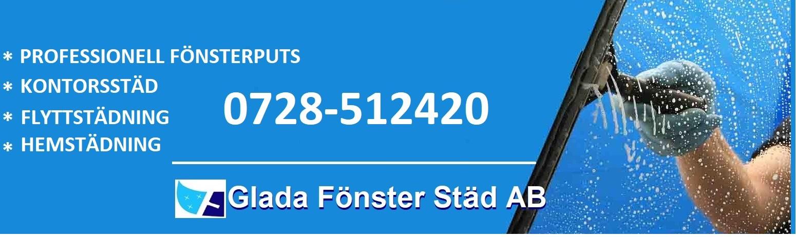 Glada Fönster Städ AB - Fönsterputs och Städtjänster i Kungsbacka